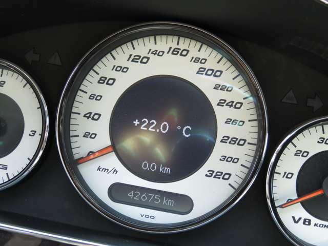 走行距離の比較的少ないお車です!(^^)