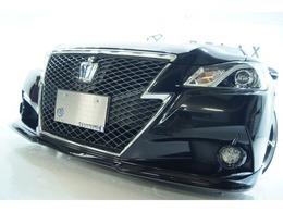 トヨタ クラウンアスリート ハイブリッド 2.5 S 新品バカンスエアロ新品ホイール新品車高調