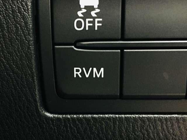 ☆RVM(リアビークルモニタリング:左右後方の車両の存在をサイドミラーのランプで知らせてくれます)