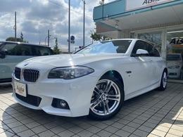 BMW 5シリーズ 523i Mスポーツ 黒レザー・LED・インテリS・ACC