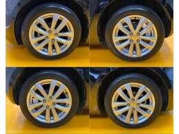 タイヤの溝は、6分程ありますのでまだまだ交換不要です。