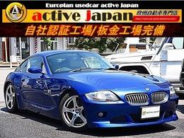 BMW Z4クーペ 3.0si sisportsバンパーレザーシートナビ