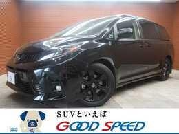 米国トヨタ シエナ 3.5 V6 SE 1オナ 両パワスラ 黒革 2020モデル