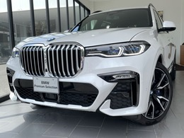 BMW X7 xドライブ35d Mスポーツ ディーゼルターボ 4WD リアエンターテイメント パノラマSR