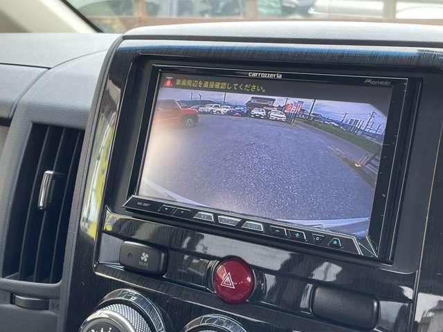 バックカメラもキレイに映ります♪駐車も楽になりますよ♪