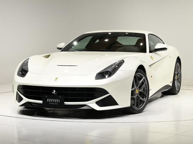CORNES芝 F12Berlinetta入荷のご案内です。【FerrariAPPROVED】 70周年記念限定車 テーラーメード メタリック・ホワイト LEDハンドル 鍛造ホイール