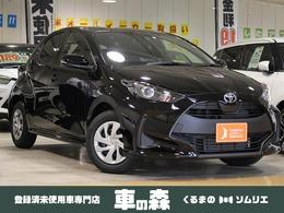 トヨタ ヤリス 1.0 X 登録済未使用車・7インチDA・衝突軽減