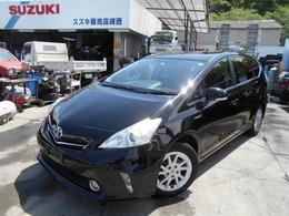 トヨタ プリウスα 1.8 S LPG タクシー LPガス
