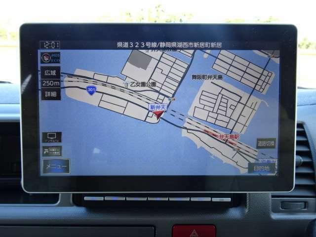 ピクシーダ10インチナビ装備☆フルセグ・DVD再生可能☆バックカメラ装備☆