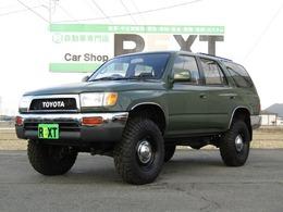 トヨタ ハイラックスサーフ 2.7 SSR-X ワイドボディ 4WD 4RUNNERスタイル リフトUP ディーンAW