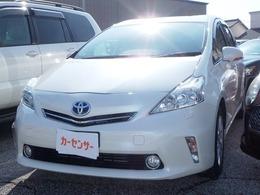 トヨタ プリウスα 1.8 G チューン ブラック アルミ・ナビ/TV・Bカメラ・ETC
