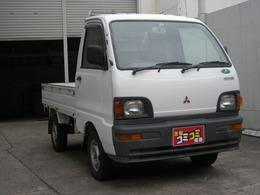 三菱 ミニキャブトラック 660 Vタイプ 三方開 4WD エアコン付き 4MT