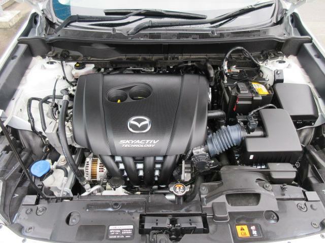 スカイアクティブGの2000ccガソリンエンジンは パワー&低燃費の高バランス型 を追求したセッティングになっており、走りと低燃費を両立した夢のエンジンです。
