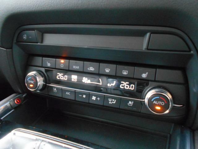 オートエアコンはもちろん、夏場に熱を吸い出し冷涼感を体感できる快適なシートベンチレーションや、寒い時期に快適なシートヒーターも完備しております。快適な車内でドライブをお楽しみください。