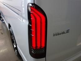 FLEXオリジナルアルティメットLEDテールランプを新品で装着!流れるウィンカーが特徴です♪