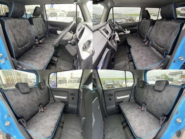 シンプルながら座り心地の良いシートです。ホールド感も良いので長いドライビングでも疲れにくいんです。
