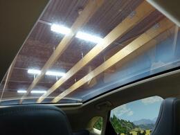 ガラスルーフのオプション付き!開放的な車内を演出します!