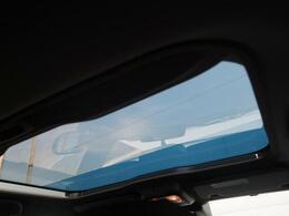 解放感溢れる【スカイフィールトップ】☆車内には爽やかな風や太陽の穏やかな光が差し込みます☆