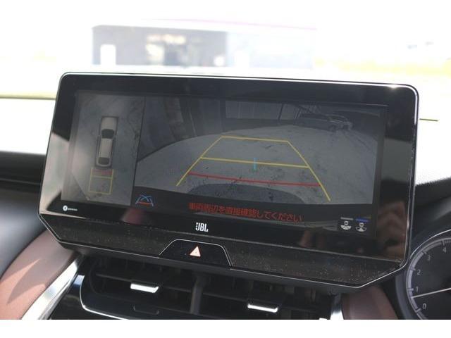 メーカーオプションのパノラミックビューモニター♪駐車時や障害物の検地に便利な機能ですね♪