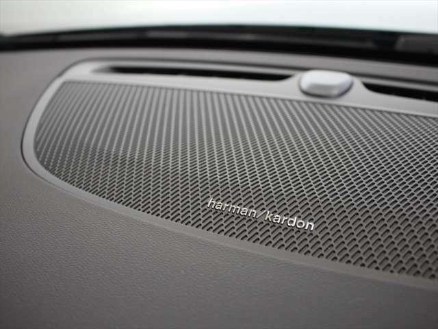 harman/kardonプレミアムサウンド・オーディオシステムにより600Wの出力を持つ14個のスピーカーを搭載 エアベンチレーテッド・サブウーファーによる温かみのあるサウンドが車内を包みます!