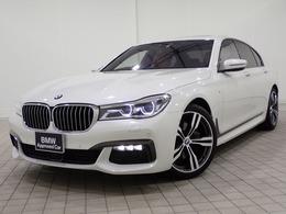 BMW 7シリーズ 740d xドライブ Mスポーツ ディーゼルターボ 4WD ワンオーナー・20AW・全国1年保証付き