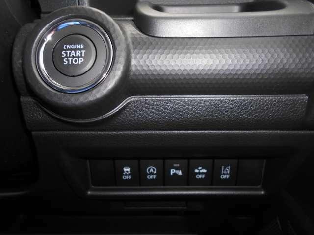 かばんやポケットにカギを入れておけば、ボタン一つでエンジンがかかります!