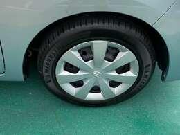 タイヤの溝もあり走行に問題ありません!