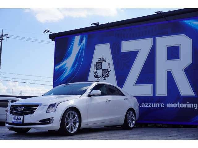 2017y キャデラック ATS ホワイト エディション 日本限定10台 正規ディーラー車 サンルーフ ヘッドアップディスプレイ アップルカープレイ アンドロイドオート ディレクショナルヘッドライト