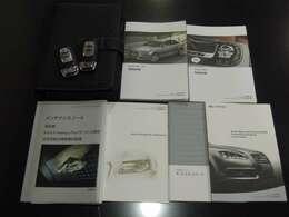 ★整備手帳・新車保証書・取説・記録簿・キー2本完備致しております。