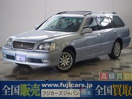 トヨタ クラウンエステート 2.5 アスリートFour 4WD OPサンルーフ ミラーヒーター 純正ナビ
