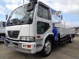 UDトラックス コンドル 増トン 車検有 4段クレーン ラジコン付 中古トラッククレーン付き クレーン車