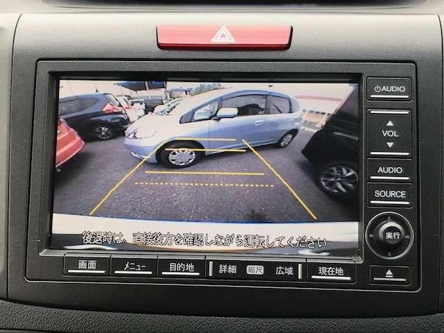 バックカメラ付きです。駐車時の負担を大きく軽減することができます。
