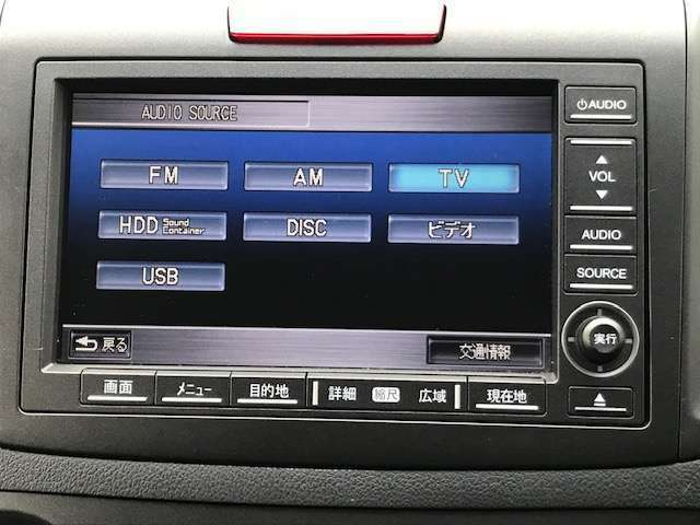 テレビやCD、DVDの視聴が可能です。USBの接続も可能です!