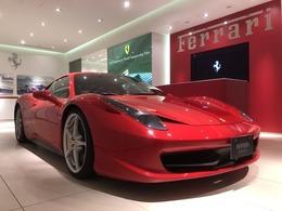 フェラーリ 458イタリア F1 DCT D車 20インチ鍛造ペイントホイール