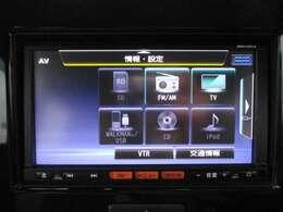 CD再生、地デジ、もちろんBluetooth通信も可能です!