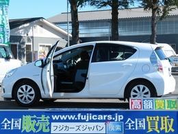 トヨタ アクア 1.5 S ウェルキャブ 助手席回転シート車 Aタイプ 福祉車両 ナビ Bカメ ETC EVモード