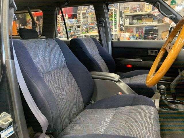 フロントシートも綺麗です!