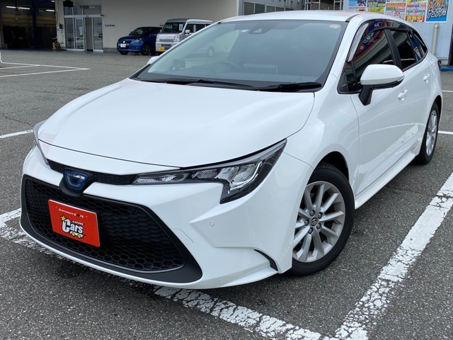新車未登録カローラツーリングハイブリッドS入庫しました!!