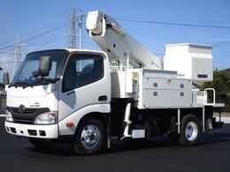 日野自動車 デュトロ AT-121TTE 第3ブームFRPコーティング タダノ 12m 高所作業車