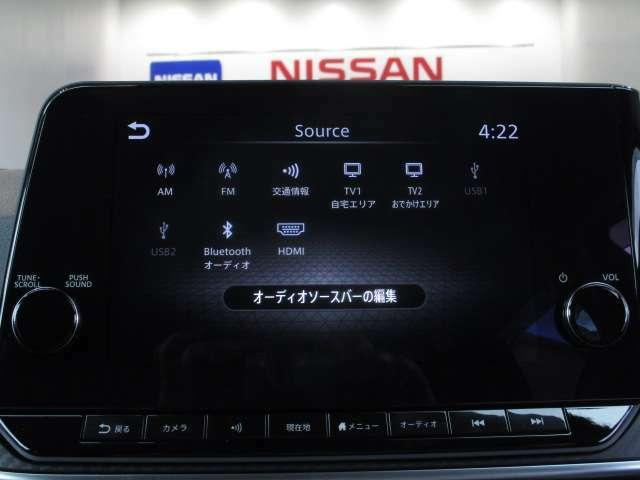 BluetoothやUSBはもちろん、HDMI入力にも対応するオーディオユニット♪