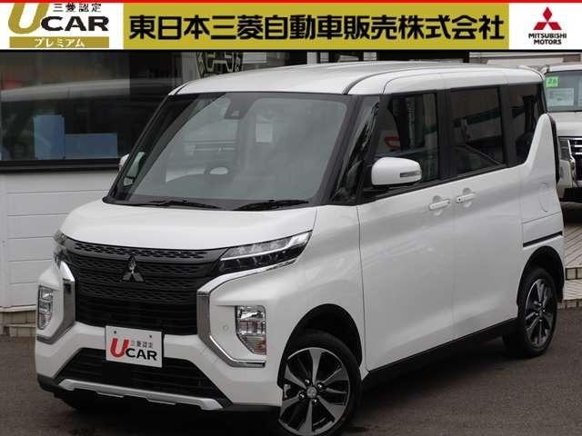 【EKクロススペース 4WD T】届出済未使用車 走行6キロ メーカーオプションにて、・先進安全PKG・先進快適PKG・後席PKG-C 装備