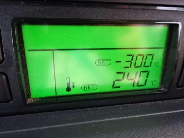 超低温 -30°設定 箱厚100mm 菱重製冷凍機(スタンバイ装置無し、超低温仕様 型式:TDS20DXB-1L1RA6S) -30℃設定 2コンプレッサー2ウェイシステム