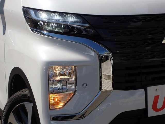 LEDヘッドランプ コーナーセンサー