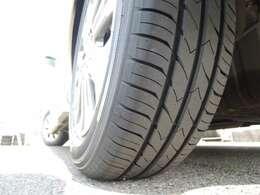 ★安心してお乗りいただけるように準備致しました(^^)/ ★写真は左後ろタイヤです!!