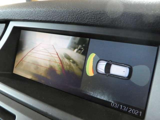 バックカメラ搭載!前後障害物センサーのついて駐車も安心です!