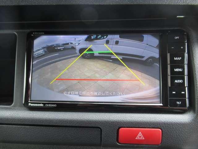 パナソニック CN-REO4WD バックガイド付きバックカメラ これで安心安全な車庫入れが実現出来ます