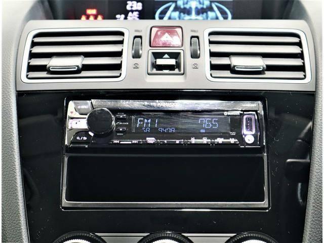 CDステレオ!USB、AUX外部入力端子付なのでデジタルオーディオプレーヤーなどの音を出力できます!