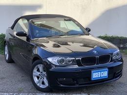 BMW 1シリーズカブリオレ 120i 電動オープン・ナビ地デジBカメラETCHID