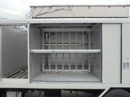 荷箱2列目長さ142×幅167×高さ119cm。