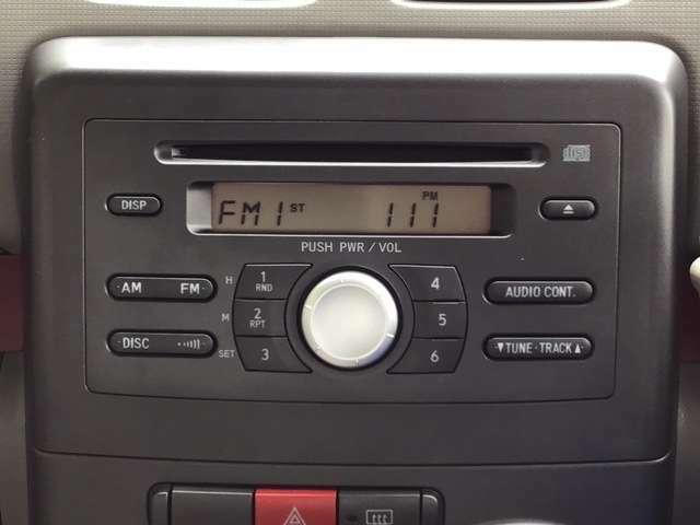CDチューナーを装備しています